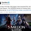 观察 | 《无畏》游戏人数突破500万 未来将登陆NS和手机端