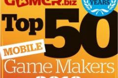 观察 | 2019全球TOP50手游开发商:腾讯第2,网易第3
