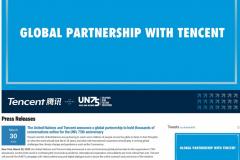 观察 | 联合国宣布腾讯为全球合作伙伴 腾讯游戏助力全球公民对话