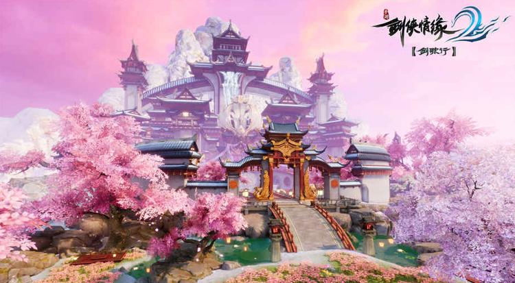 """""""剑""""""""歌""""相伴《剑侠情缘2:剑歌行》的玩法与社交新尝试"""