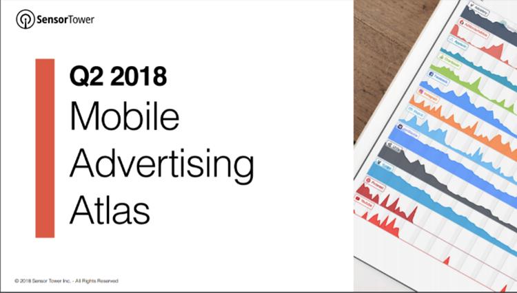 2018 Q2美国市场移动广告主排名:《PUBG Mobile》Facebook买量抢眼,Voodoo和Glu旗下多款游戏入围