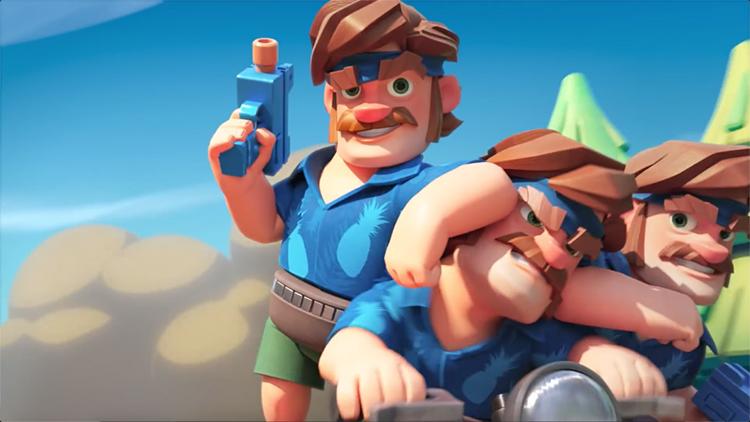 "Supercell推出新作《突突兵团》,有人说它""平庸"""